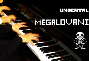 【Mr.Li+Animenz】抖腿神曲 Megalovania 狂妄之人 传说之下BGM 钢琴四手联弹