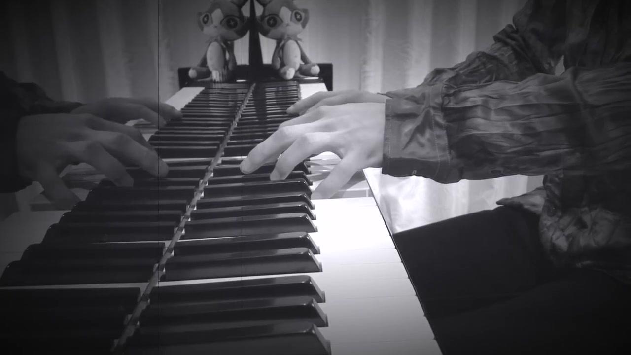 【最终幻想14】主城Kugane 夜晚BGM 钢琴版
