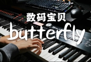 butterfly-弹唱【数码宝贝主题曲】【钢琴】
