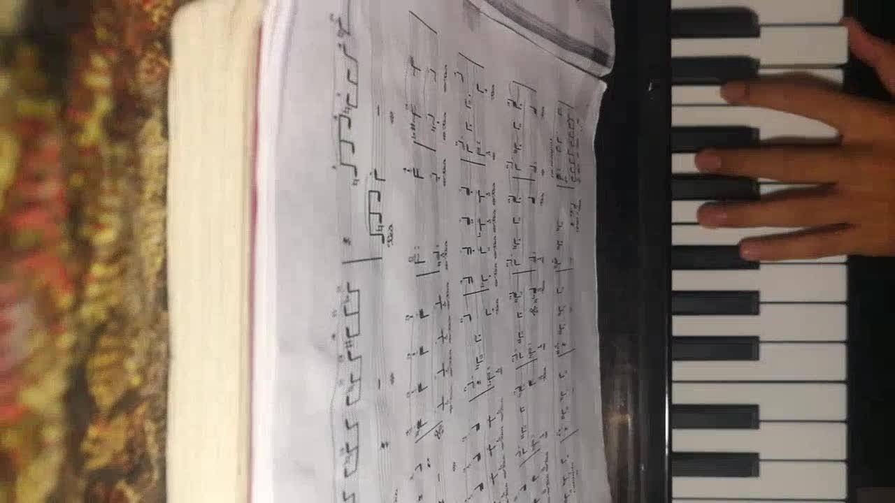 海棠666 发布了一个钢琴弹奏视频,欢迎