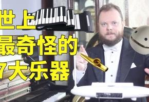 世界上最奇怪的7大乐器