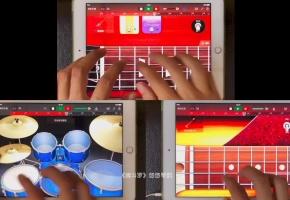 【一人乐队】当年经典的《魂斗罗》音乐居然可以用iPad这样玩起来,超级带感啊有木有!【库乐队】