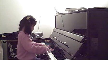 笑笑弹贝多芬c小调钢琴曲 悲