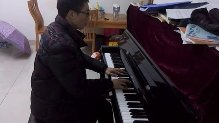 我的歌声里(立式钢琴)