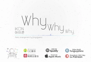 iKON「Why Why Why」钢琴