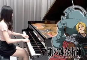 【Ru,s Piano】钢之炼金术师 OP1『Again / Yui』钢琴演奏 - Fullmetal Alchemist: Brotherhood OP1