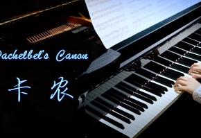 终于弹了这首 世界上最治愈的钢琴曲?卡农