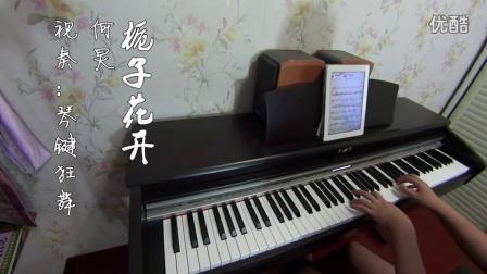 何炅 栀子花开 钢琴曲