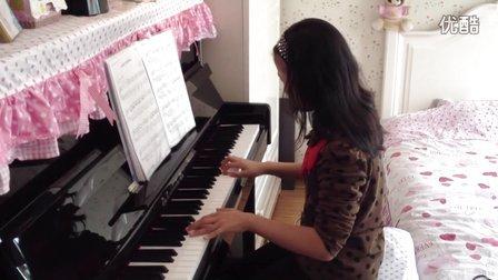 钢琴曲《我的歌声里》