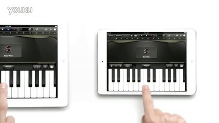 iPad mini钢琴广告