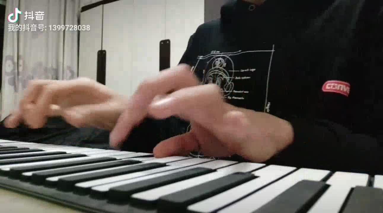 杜子强 发布了一个钢琴弹奏视频,欢迎来围