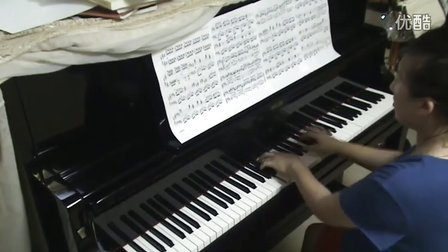 《水草舞》钢琴视奏版