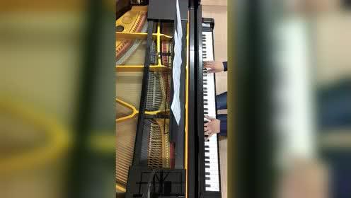 李玉刚《刚好遇见你》钢琴版(悠悠琴韵钢琴演奏)