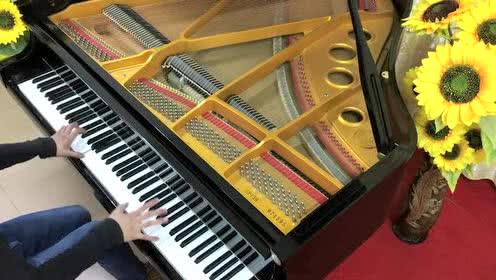 理查德·克莱德曼《梦中的婚礼》三角钢琴版(悠悠琴韵演奏)