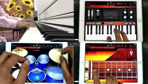 周杰伦《告白气球》(悠悠琴韵创意钢琴 iPad演奏)