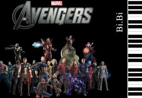 交响乐改【钢琴】高难版 复仇者联盟 主题曲  The Avengers Theme Soundtrack Piano Music 复联4 【Bi.Bi】