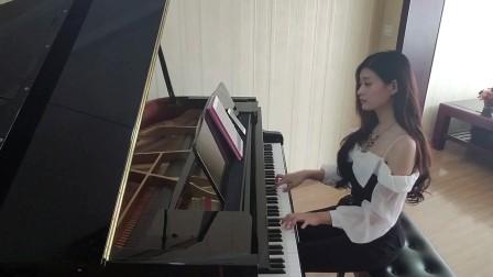 爱情转移钢琴演奏 富士山下钢