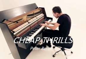 小伙伴们要我Say Hello视频里面的Sia-Cheap thrills,今天...他来了【Peter Bence】.