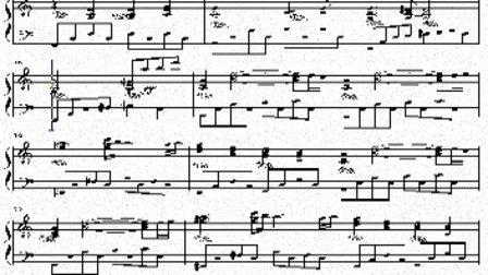 火影三代目の葬礼钢琴曲