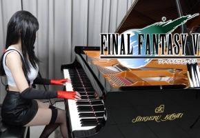 最终幻想VII - 蒂法主题曲 - 原始&重制版 钢琴演奏 | Ru,s Piano