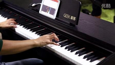 Geek极客智能钢琴学琴效果