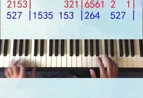 《东西》姜创钢琴教学
