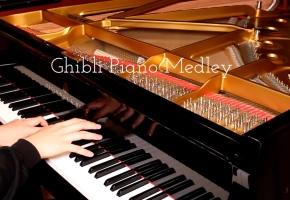 【Animenz】吉卜力工作室组曲 钢琴改编 Studio Ghibli Medley [Piano]