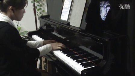 韩红孙楠《美丽的神话》钢琴视