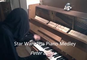 星球大战 Star Wars The Piano Medley - Peter Bence