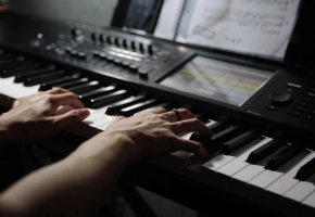【钢琴】送别