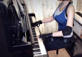 【钢琴】《生化危机3》经典片尾曲Staffs & Credit