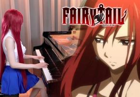 妖精的尾巴 FAIRY TAIL「Sad Theme & Past Story」钢琴演奏 Ru,s Piano | 两首最脍炙人口的妖尾主题曲