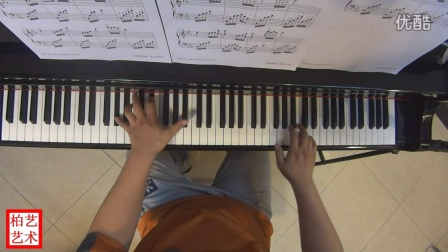 夜的钢琴曲五-钢琴慢练示范版