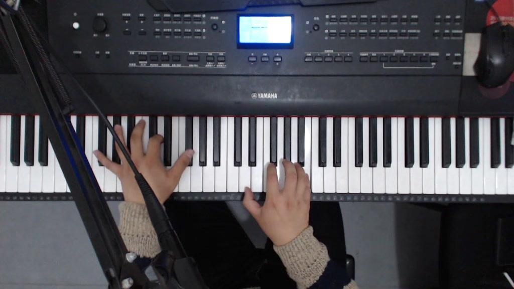 【钢琴】钢琴弹唱张惠妹《哭砂》,快唱哭了