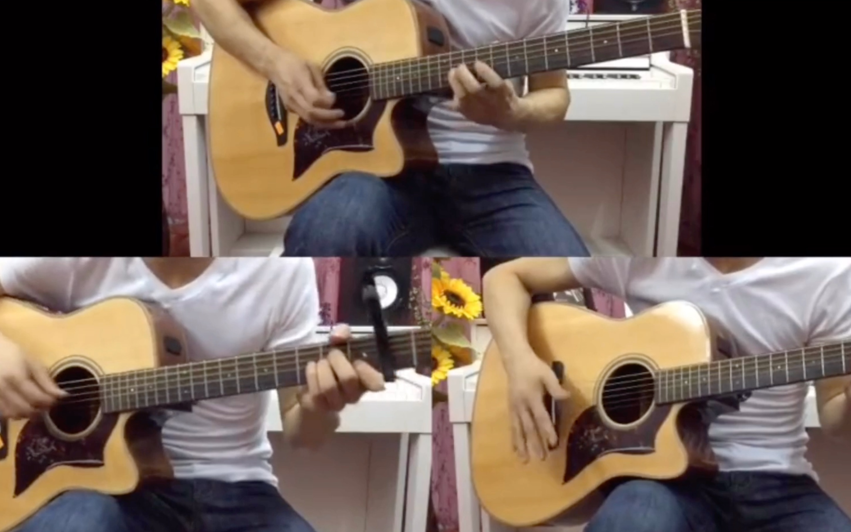 【吉他】自己一人用吉他分为三个角色来演奏《友情岁月》会是什么感受呢?_哔哩哔哩 (゜-゜)つロ 干杯~-bilibili