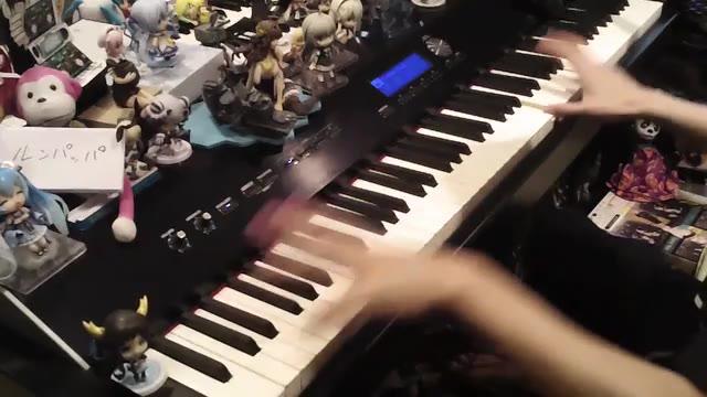 【触手猴】《only my railgun》钢琴演奏【某科学的超电磁炮OP】