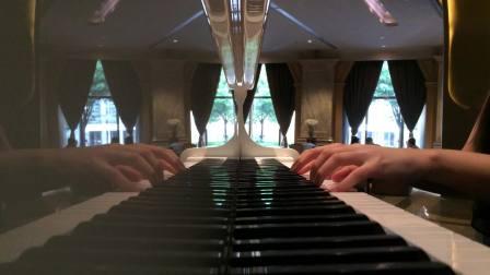 钢琴谱  《卷珠帘》  霍尊