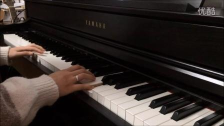 钢琴《当你老了》 BY朝晖小