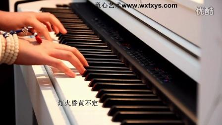 莫文蔚《当你老了》钢琴+背景