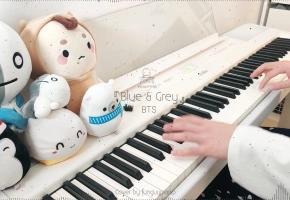 BTS 防弹少年团「蓝灰 Blue & Grey」钢琴改编
