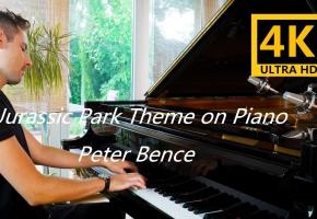 侏罗纪公园钢琴主题曲 Jurassic Park Theme on Piano - Peter Bence