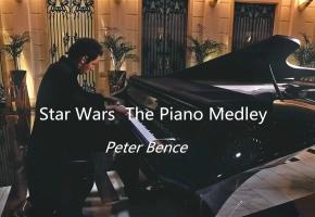 1000万的钢琴砸出来是这个声音?Star Wars  The Piano Medley - Peter Bence