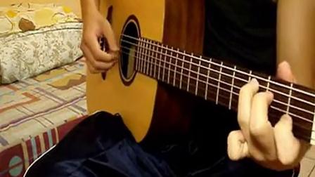 周杰倫【晴天】木吉他演奏 (