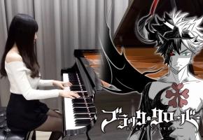 黑色四叶草OP3「Black Rover」钢琴演奏 | Ru,s Piano