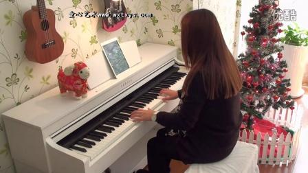 张杰  张靓颖《燕归巢》钢琴