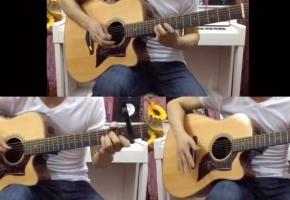 【吉他】自己一人用吉他分为三个角色来演奏《友情岁月》会是什么感受呢?