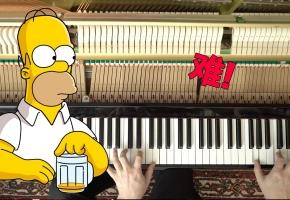《辛普森一家》主题曲 - 钢琴改编版