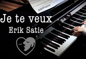 Je te veux  换个方式说爱你 法国浪漫钢琴曲