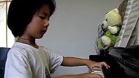 钢琴演奏 土耳其进行曲 王予