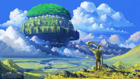伍乐 《天空之城》久石让 宫